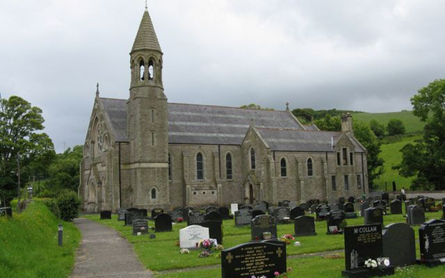 St Mary's Church Cusendall, where James McAllister died during his wife's funeral