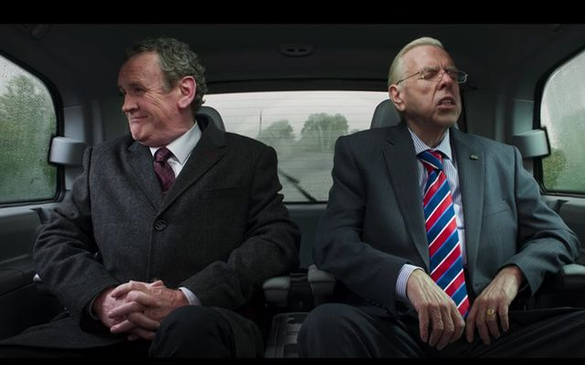 Check out Colm Meaney as Martin McGuinness and Timothy Spall as Ian Paisley.