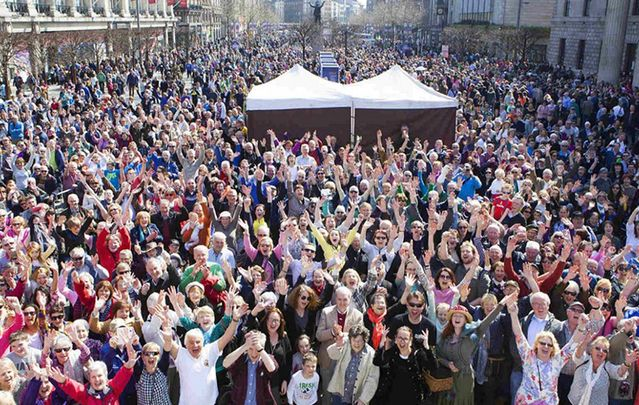 The Cruinniú na Cásca festival will take place every Easter Monday for the next five years, with 31 local authorities across the nation hosting special free Cruinniú na Cásca initiatives.