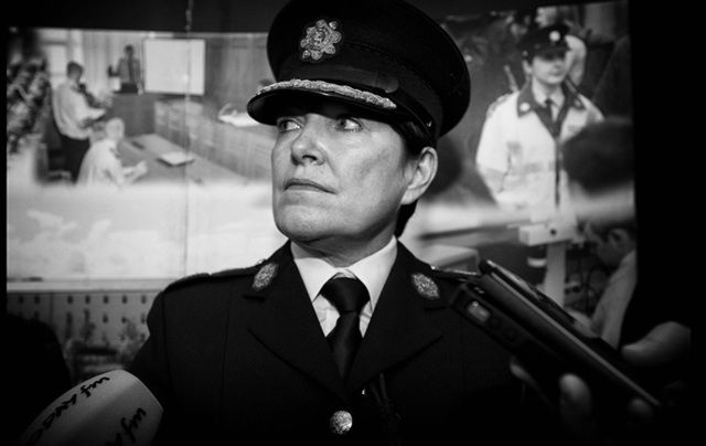Commissioner of the Garda Síochána Nóirín O'Sullivan.
