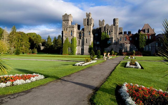 Ashford Castle in Co. Mayo.