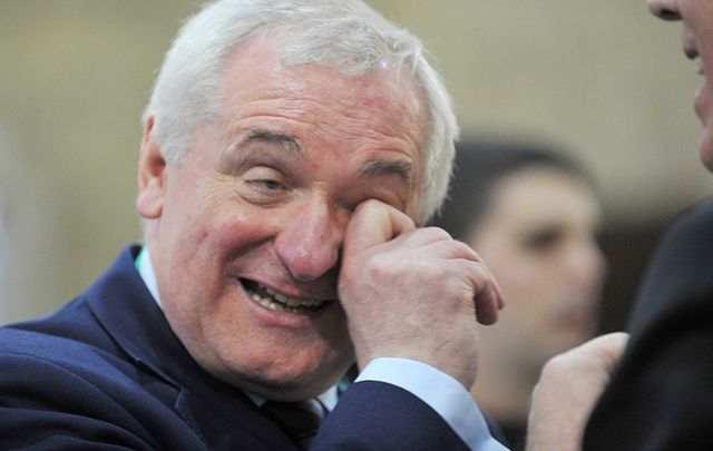 Bertie Ahern, former Irish leader. Sure he's a gas man....if only he meant to be.