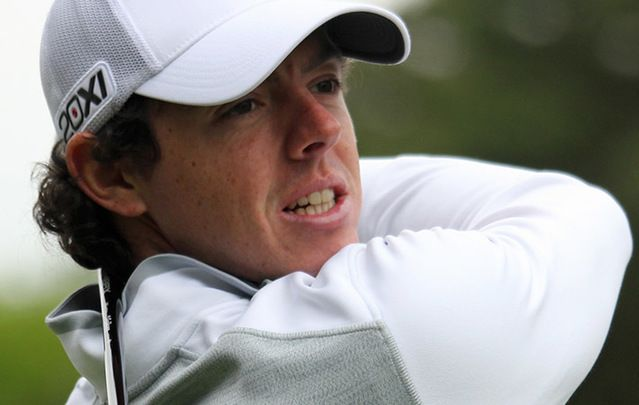 Rory McIlrosy golf swing.