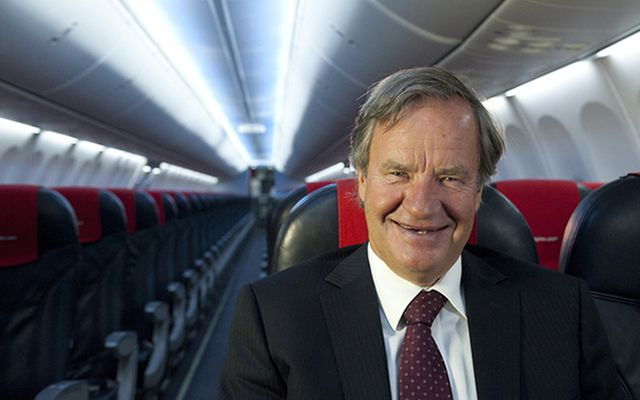 The CEO of Norwegian Air Shuttle, Bjørn Kjos.