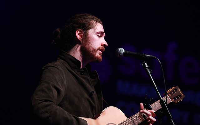 Irish musical giant Hozier.