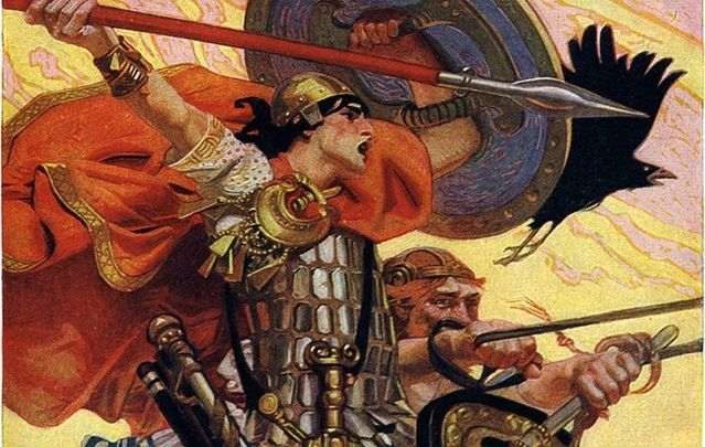 Cú Chulainn, greatest of all Irish warriors