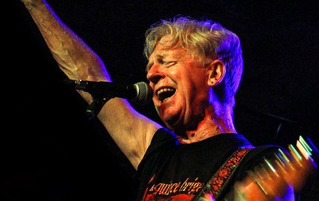 Former front man of Black 47 Larry Kirwan.