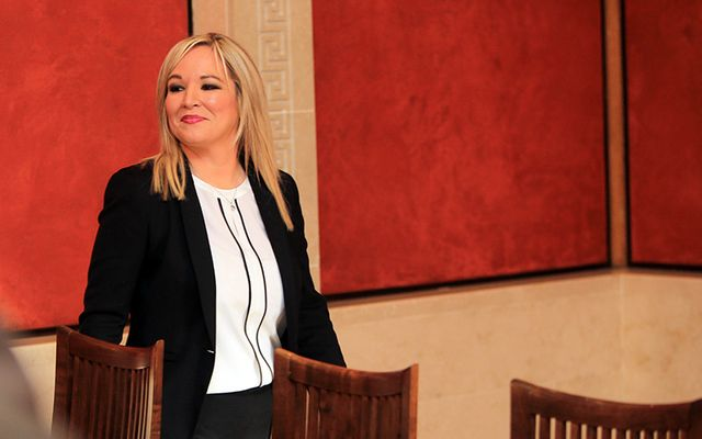 Sinn Féin Northern Ireland leader Michelle O\'Neill.