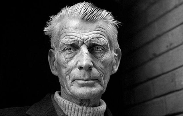 Irish legendary playwright Samuel Beckett.