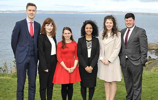 Six Queen's University Belfast students selected for the Washington Ireland Programme.