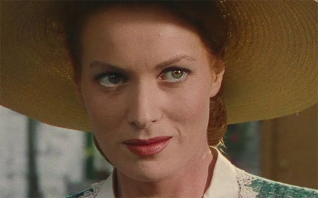 "Maureen O\'Hara in ""The Quiet Man\""."