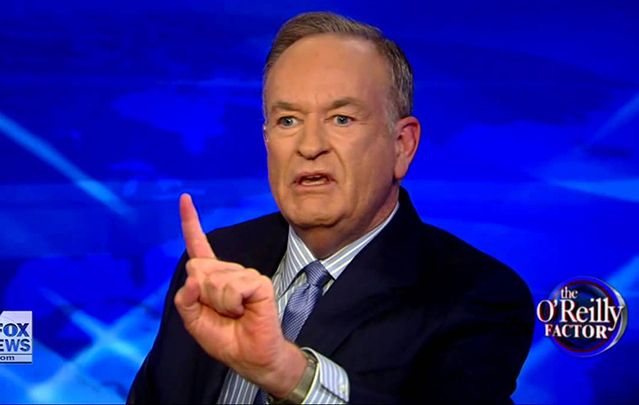 Bill O\'Reilly out at Fox.