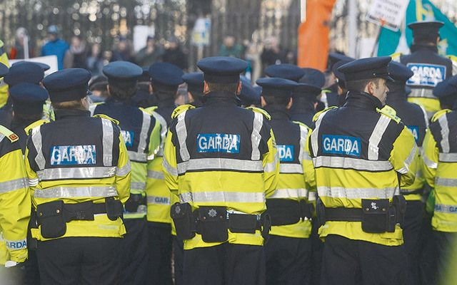 Gardaí Síochana, the name given to the Irish police force.