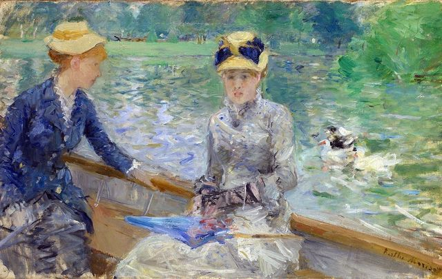 Jour D\'Ete (Summer\'s Day) by Berthe Morisot.