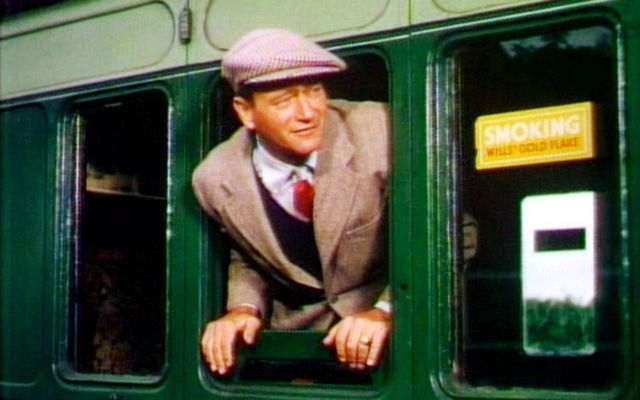 John Wayne in the opening scene of The Quiet Man