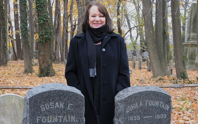 Lynn Rogers, Executive Director of Friends of Abandoned Cemeteries, has been fighting for the Irish victims of the Great Hunger for decades.