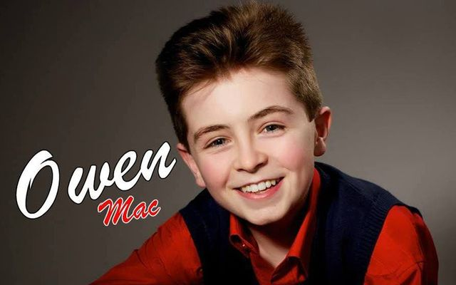 14-year-old Irish country music star Owen Mac.