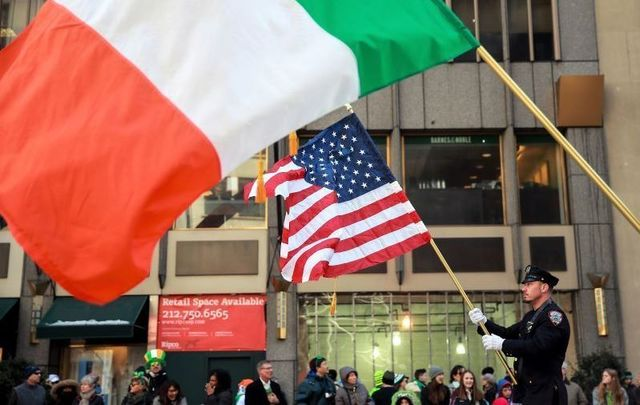 Scenes from the New York City St. Patrick\'s Day Parade.