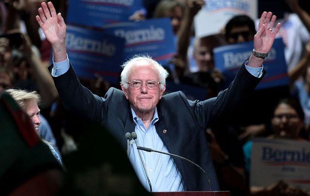 United States Senator and former US presidential hopeful Bernie Sanders.