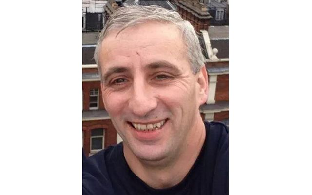 Murdered Irishman Damien McLaughlin.