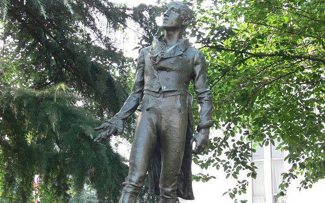 The Robert Emmet Statue in Washington D.C.