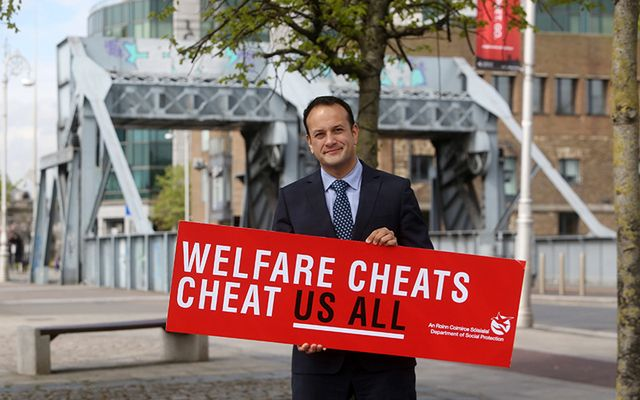 Irish Minister for Social Protection Leo Varadkar