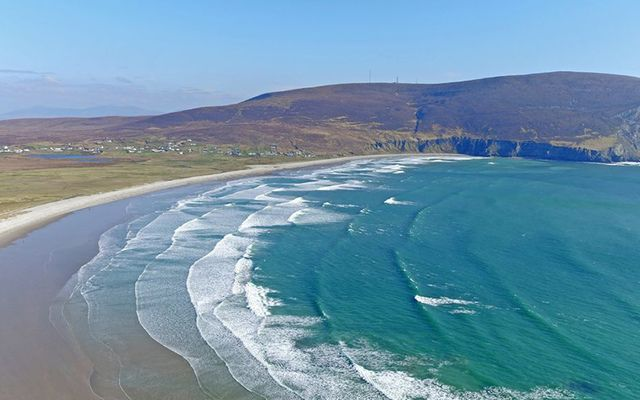 Keel Beach, Achill Island, Co. Mayo.