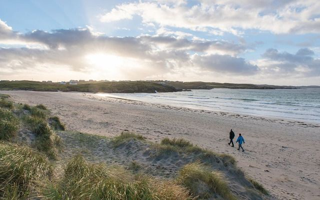 Carrickfin beach in Co. Donegal, home to the world\'s second most scenic airport landing.