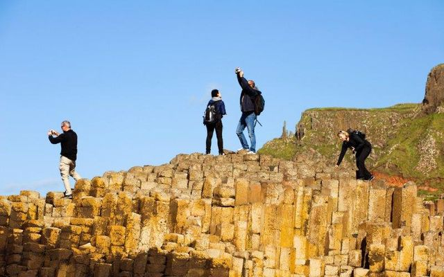 Northern Ireland\'s stunning Giants Causeway is just one of the many destinations on a Rabbie\'s tour.