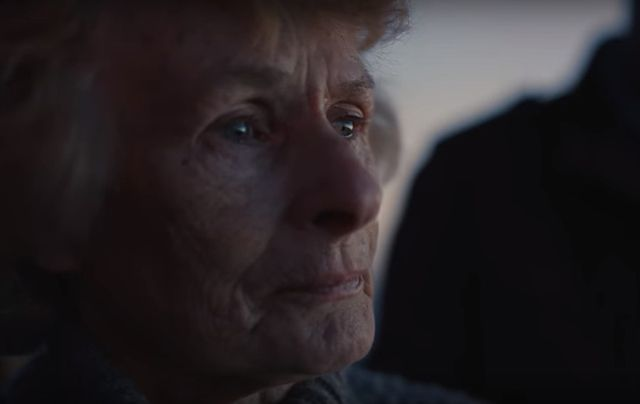Seventy-eight-year-old Marie Gallagher has become an advertising star.