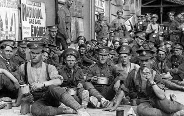 British troops in Ireland, June 1922.