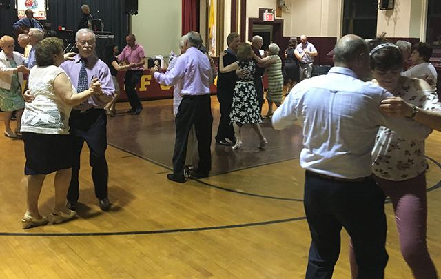 Taking to the floor at the Pioneer Total Abstinence Association celebrations.