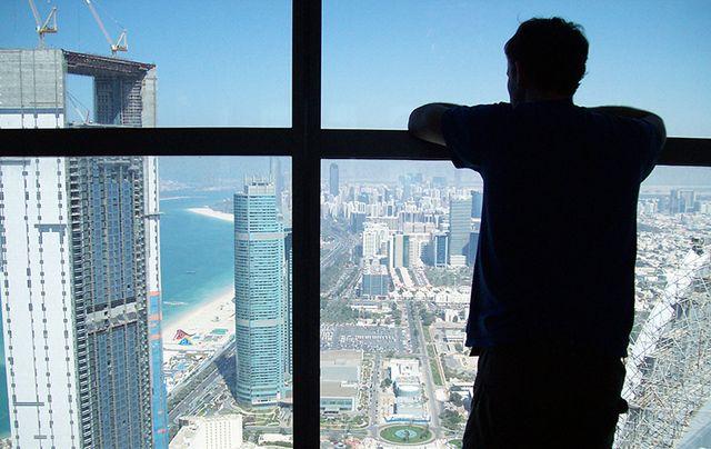 Gerard Ward, an Irish paramedic, makes his new home in Abu Dhabi