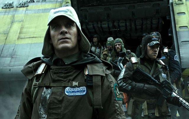 Michael Fassbender in Alien: Covenant.