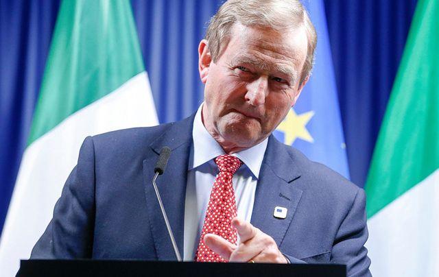 Taoiseach Enda Kenny in Brussels last weekend.