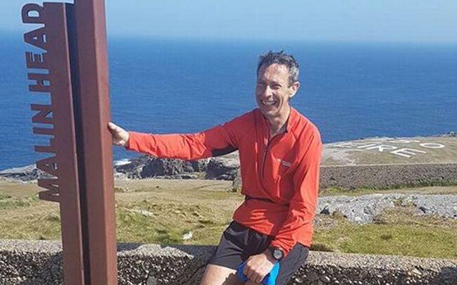 Ultra runner Eoin Keith