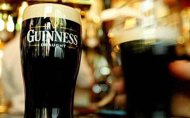 A pint of Guinness.