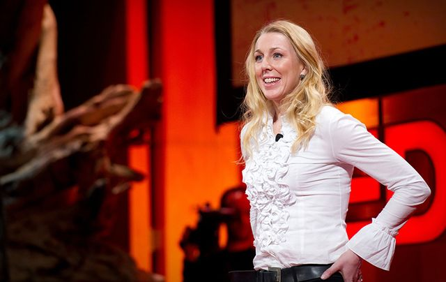 The wonderful Caroline Casey gives her TED Talk.