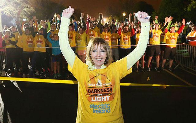 Senator Joan Freeman at a previous Darkness into Light event.
