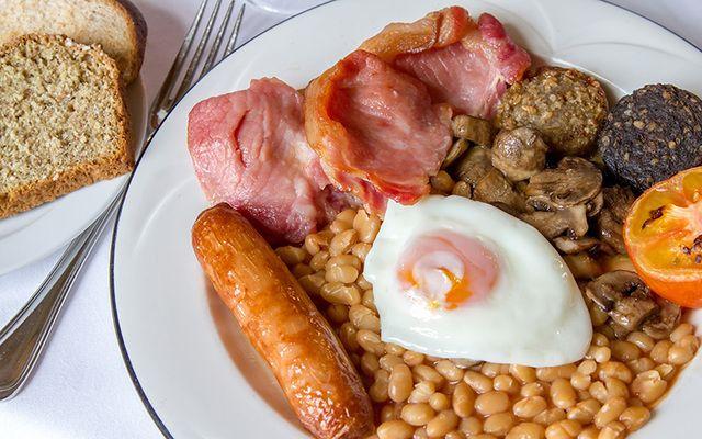 A solid Irish breakfast.