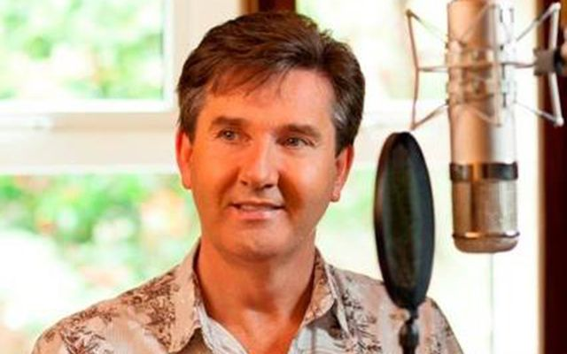 Irish country singer Daniel O'Donnell.