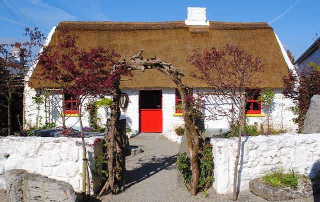 Katie's Claddagh Cottage in Galway.