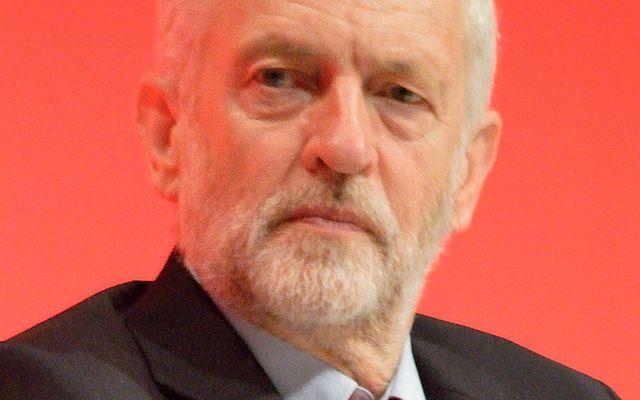 Jeremy Corbyn in 2016.