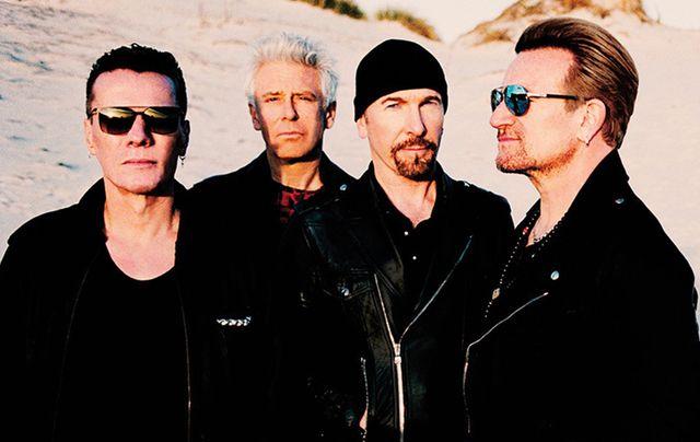 Promo shot for the U2 2017 Joshua Tree tour.