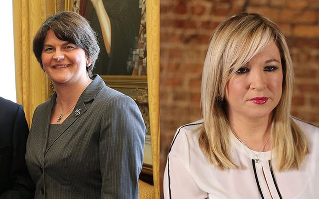 Arlene Foster and Michelle O\'Neill