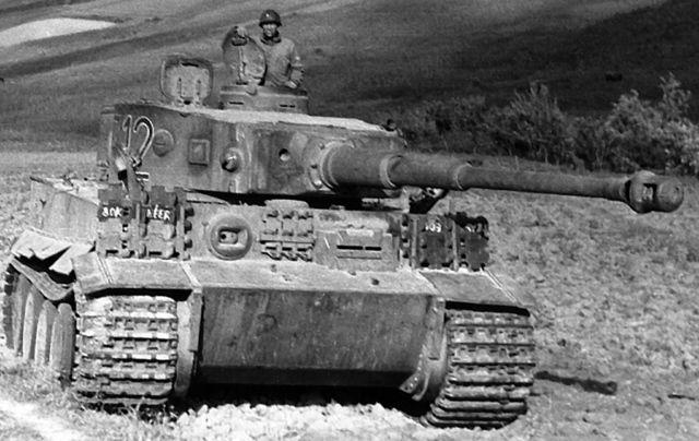 A World War II Tiger tank.