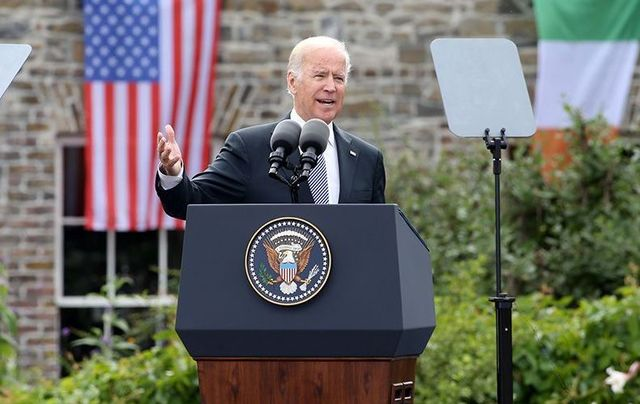 Former vice president Joe Biden, speaking during an official visit to Ireland.