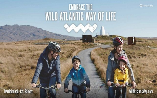 Fáilte Ireland's new campaign encourages domestic holidaymakers to 'Embrace the Wild Atlantic Way'