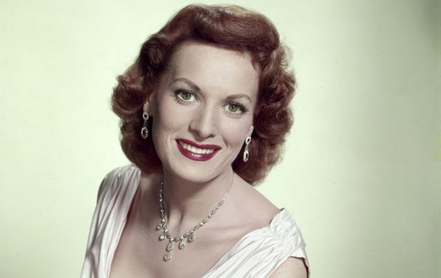 The beloved, late, great Hollywood icon, Maureen O'Hara.