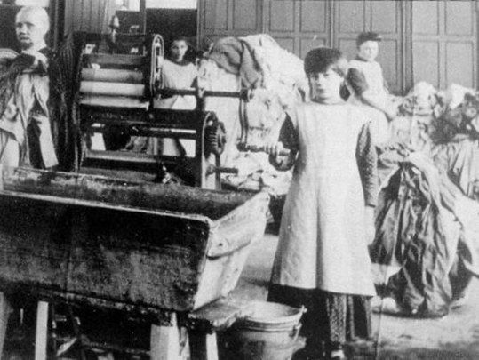 Children and women in the Magdalene Laundries.